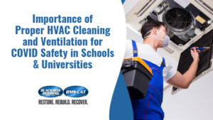 Importance of Proper HVAC Cleaning and Ventilation for COVID Safety in Schools & Universities