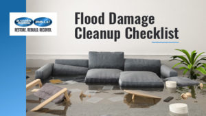 Flood Damage Cleanup Checklist