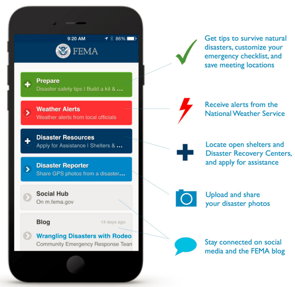 FEMA app is a one-stop-shop