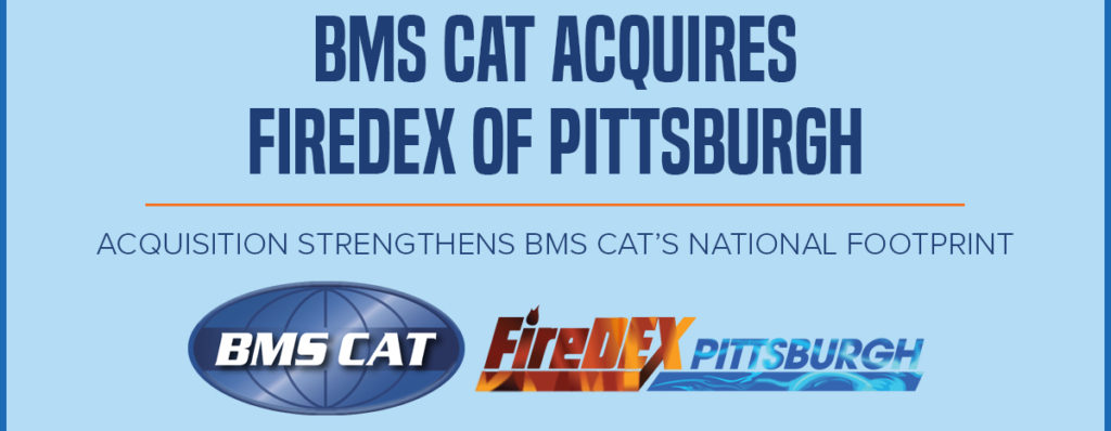 BMS CAT Acquires FireDEX of Pittsburgh