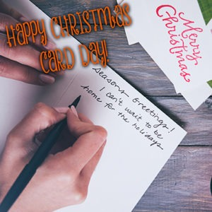 Happy Christmas Card Day