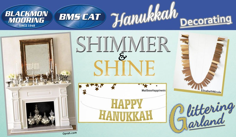 Hanukkah decorating ideas for your home or office