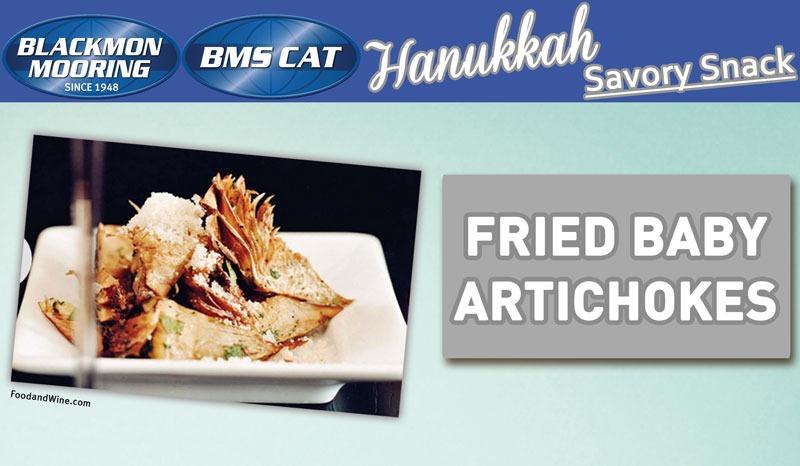 Hanukkah Savory Snack Appetizer Recipe