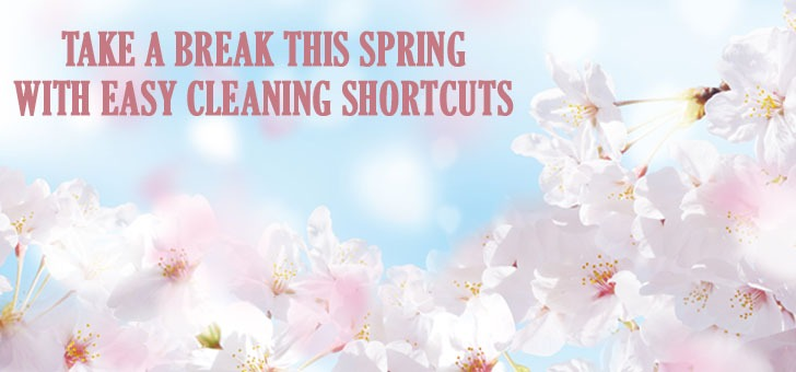 Easy Spring Cleaning Shortcuts