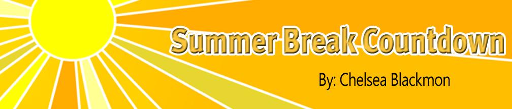 Summer Break Countdown