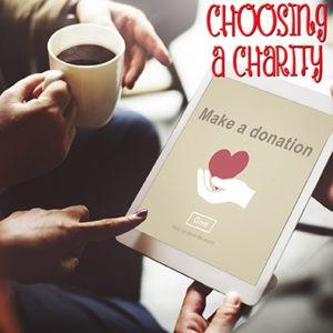 Choosing a Charity