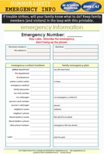 Emergency Info