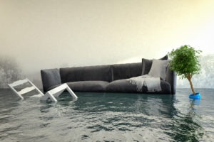 flood damage in your home