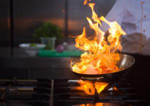 Kitchen fires and smoke damage