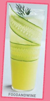Cucumber LemonadeMocktail