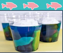 Underwater Jell-O Treats