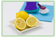 Use leftovers as cleaning supplies