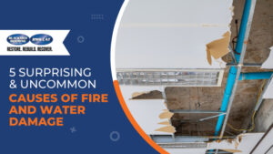 Uncommon Causes of Fire and Water Damage